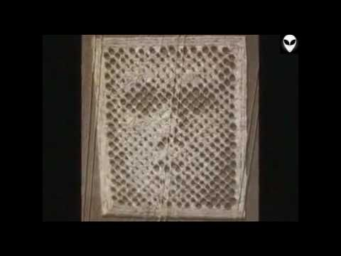 reconxile.com | Understanding Human Origins and Potential - Chilbolton crop circle 2001, possibly the face of god... shocking what happens when the image is blurred.