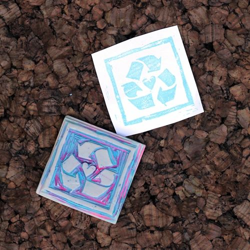 how to-sday . make your own stamps by Lindsay at Shrimp Salad Circus