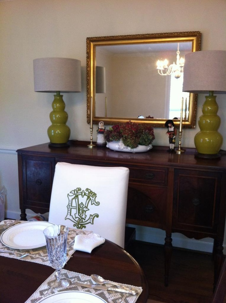 87 best Buffets w Lamps images on Pinterest For the home
