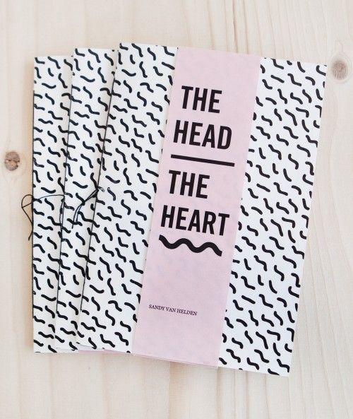 ✖ SANDY VAN HELDEN | THE HEAD/THE HEART (ZINE)