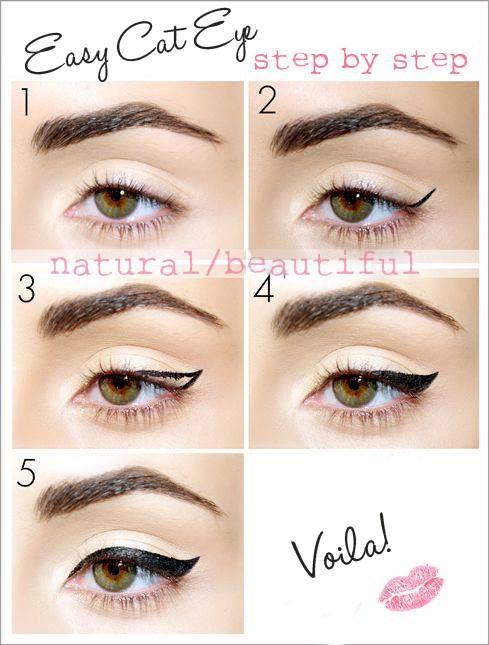 Easy Cat Eye Makeup For - Mugeek Vidalondon