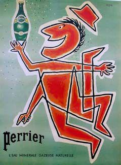 affiche perrier histoire des arts