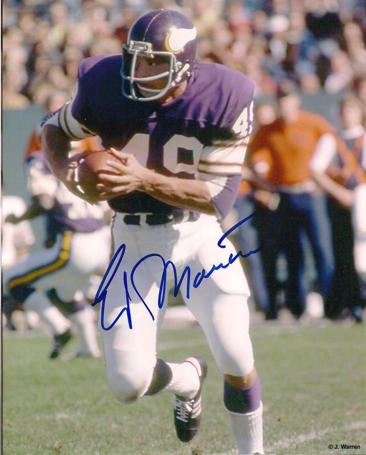 Ed Marinaro Signed 8x10 Photo-1970's Minnesota Vikings #NFL #Football-actor from $10.95