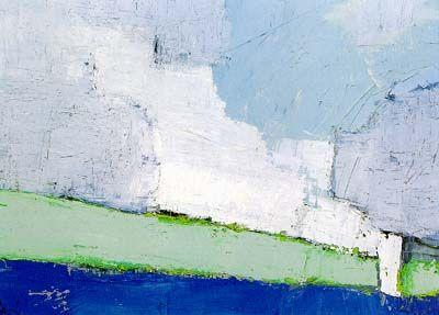 Paysage de Vaucluse No. 3 Artist: Nicolas de Staël Completion Date: 1953 Style: Art Informel Genre: landscape
