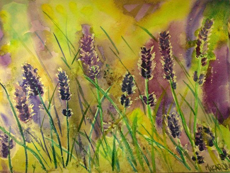 lavender (water color)