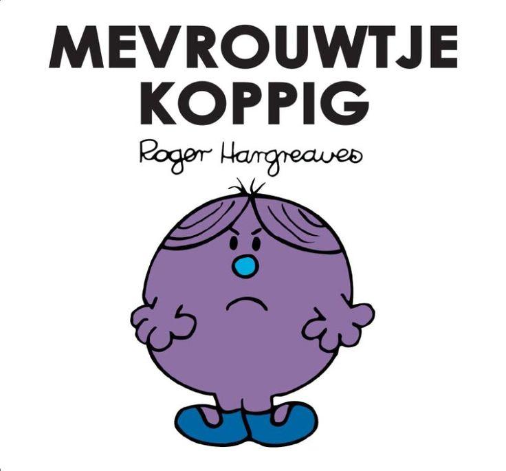 Mevrouwtje Koppig luistert naar niemand anders dan zichzelf. Daardoor komt ze soms behoorlijk in de problemen. Maar dat zal ze natuurlijk nooit toegeven. Mevrouwtje Koppig is het veertiende deeltje van de Mevrouwtjes / Meneertjes-serie. Spaar ze allemaal!