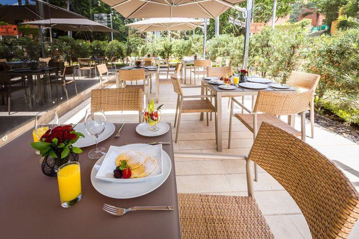 Terraza restaurante Valais