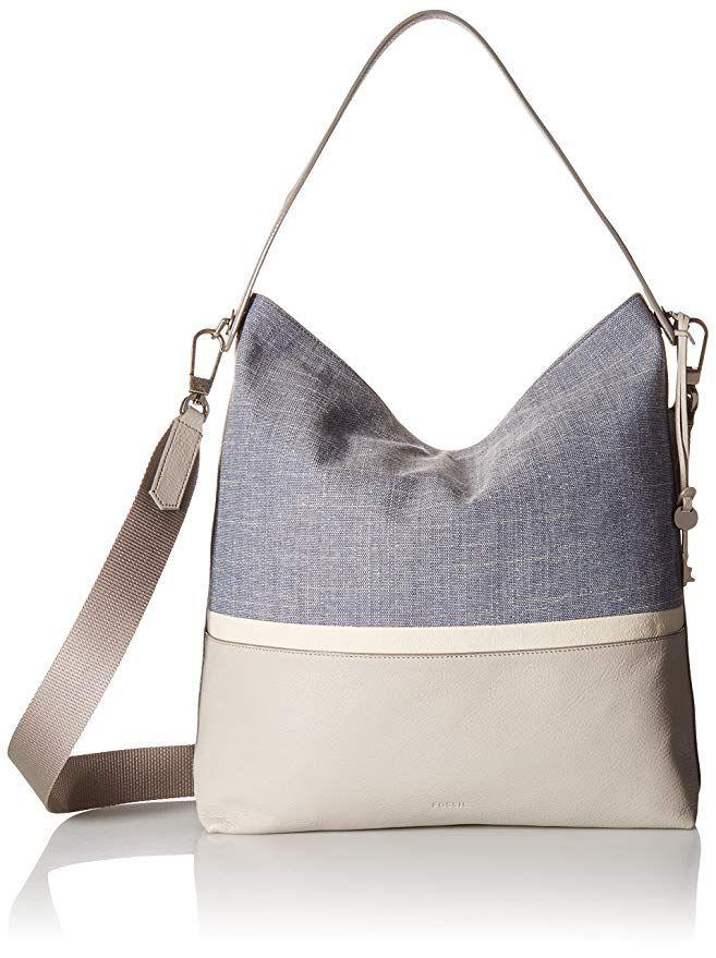 Fossil Maya Handbag Large Hobo One Size Designer Handbags Spring Fashion