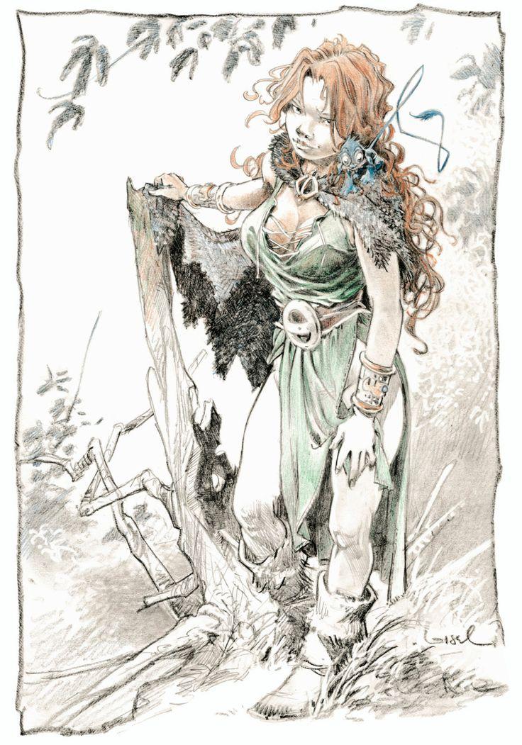 Régis Loisel art - La quête de l'oiseau du temps
