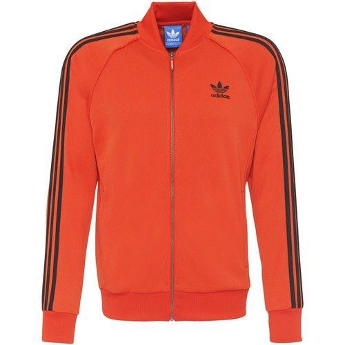 Veste de survêtement Adidas Superstar, taille M red