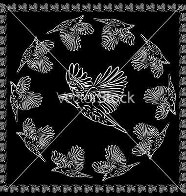 World crows vector