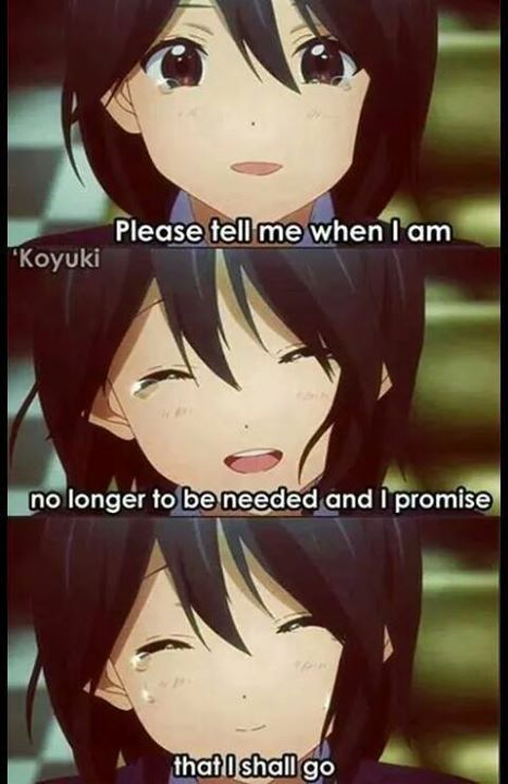 Sad Anime Quote Dont Know Which