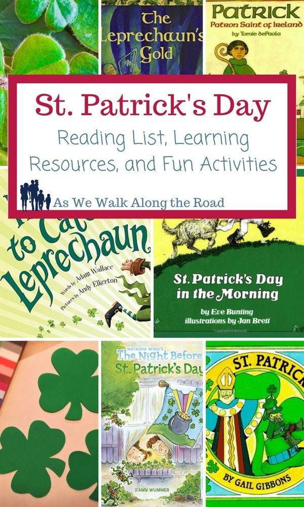 Celebrate St. Patrick's Day with these books, activities, and resources.