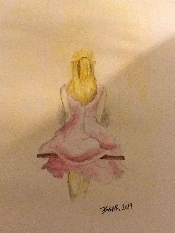 Lille akvarel