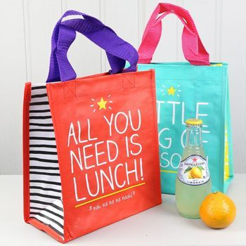 Happy Jackson Lunch Tote Bag