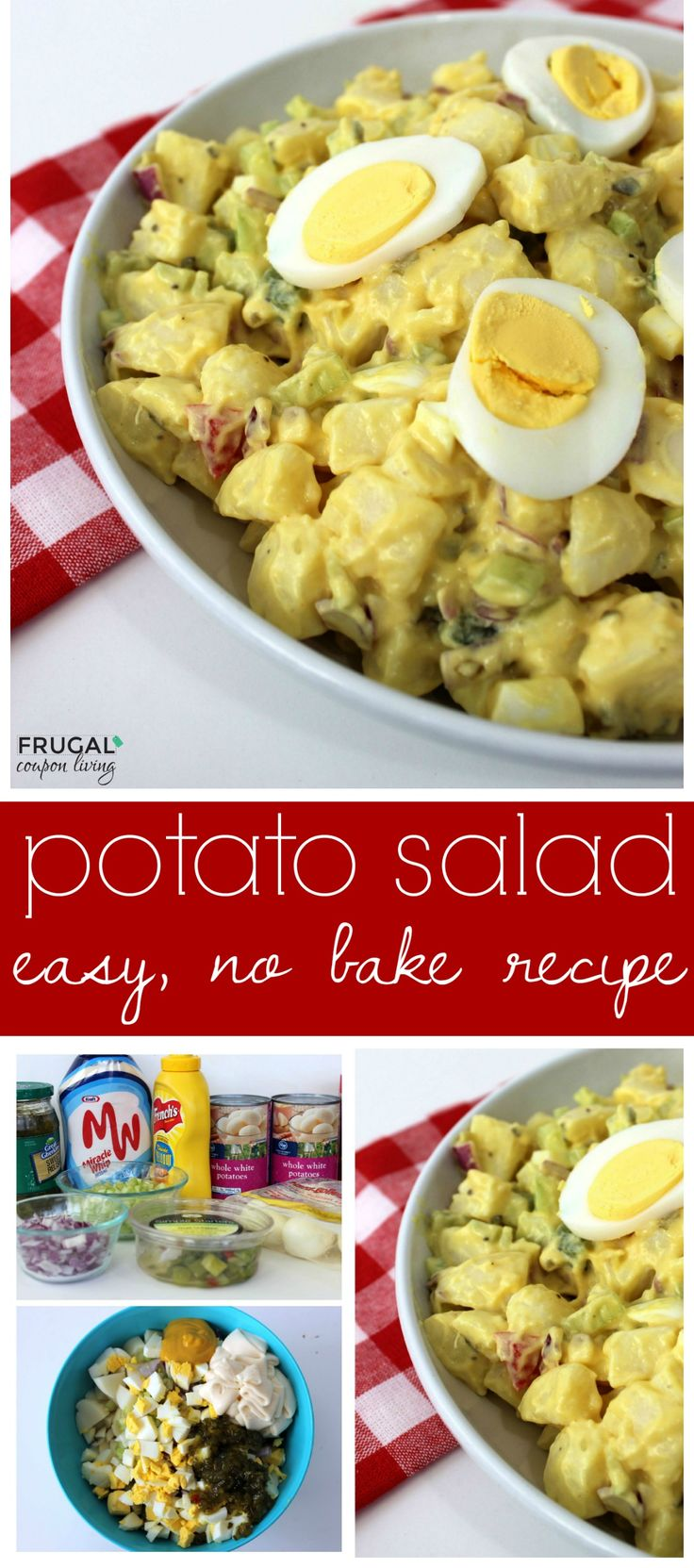 Best 25 Easy Potato Salad Ideas On Pinterest Easy Potato Salad Recipe Potato Salad Recipe Easy And Bacon Ranch Potatoes
