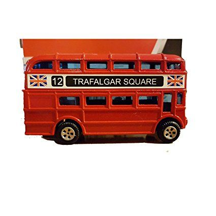 Collectable Diecast Metal London Bus! Charming Model London Routemaster