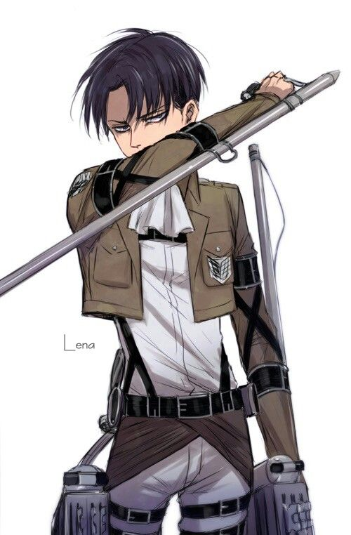 Levi Ackerman - Attack on Titan...been waiting for the second season for so long!!!