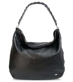 "Chimpel ""DARIA"" Crocodile leather Hobo Handbag. Soft leather with crocodile leather  cut-out handle. Cape Town, South Africa"