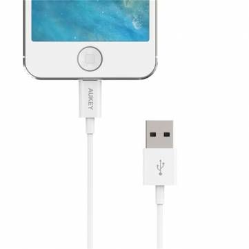 Aukey MFI Certification 8Pin USB Charger Data Cable For iPhone iPad iPod Sale-Banggood.com
