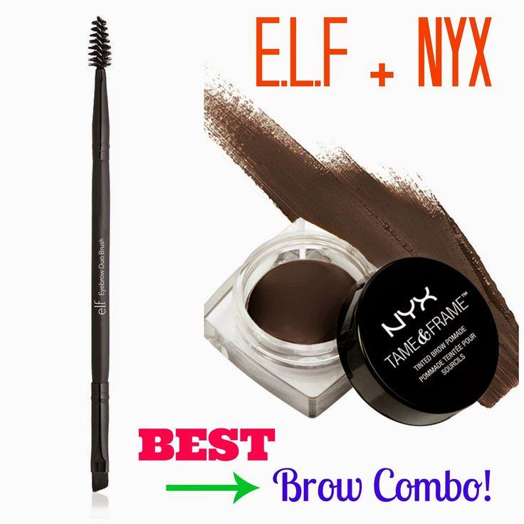 Best Drugstore Brow Pomade & Brush Combo