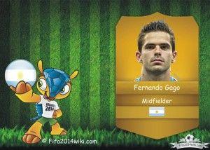 Fernando Gago - Argentina Player - FIFA 2014