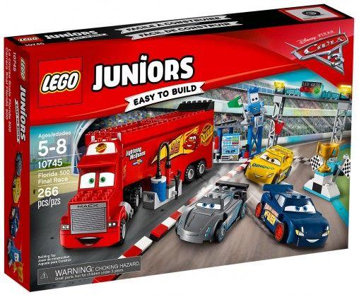 LEGO Juniors 10745 : La finale des 500 miles de Floride - Août 2017
