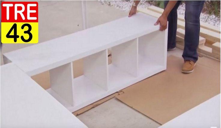Un'idea Geniale Per Creare Spazio Extra Con 3 Librerie IKEA