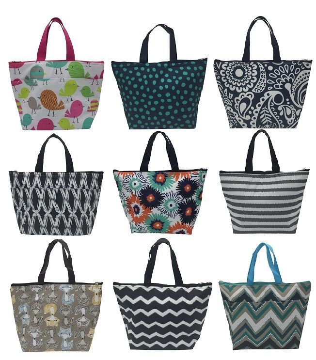 Defect thirty one thermal Picnic lunch tote bag 31 gift fox tweets more prints #NOLOGO #TotesShoppers