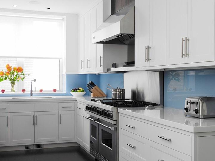 Blue Kitchen Tile 116 best white kitchens images on pinterest | white kitchens, home