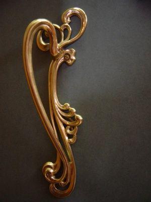 Art Nouveau door pull - GA: Door Pull, Vervloet Collection