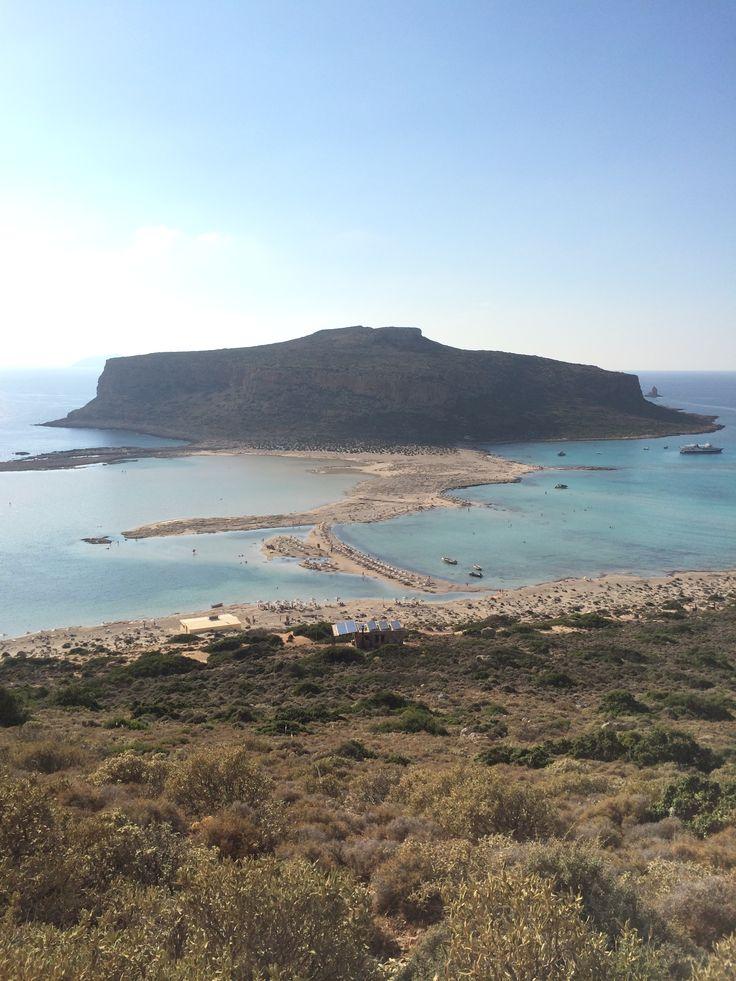 На самом деле это Крит. Пляж Балос