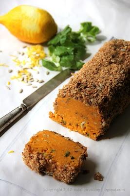 eat after reading: Pate z dyni piżmowej ze słonecznikiem i amaretto