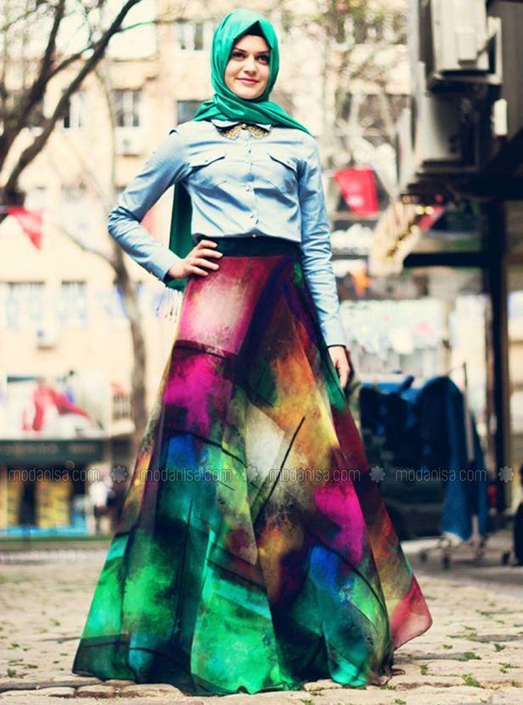 Rainbow bias Skirt - Original - John Parker