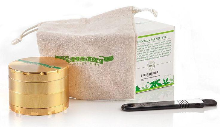 New Big Grinder and Diamond Teeth Will Help You Grind Ganja, Herbs, Tobacco-$20.00