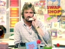 The Multi-Coloured Swap Shop - a Saturday morning revolution - pop stars, actors, cookery, news, great competitions, and all live - it was unmissable :-)