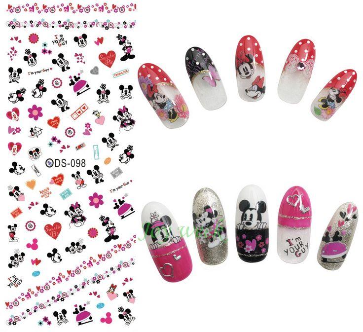 $0.49 (Buy here: https://alitems.com/g/1e8d114494ebda23ff8b16525dc3e8/?i=5&ulp=https%3A%2F%2Fwww.aliexpress.com%2Fitem%2FWater-Transfer-Nails-Art-Sticker-Mickey-Mouse-cartoon-Nail-Wraps-Sticker-Watermark-Fingernails-Decals-manicure-stickers%2F32723859744.html ) Water Transfer Nails Art Sticker Mickey Mouse cartoon Nail Wraps Sticker Watermark Fingernails Decals manicure stickers for just $0.49
