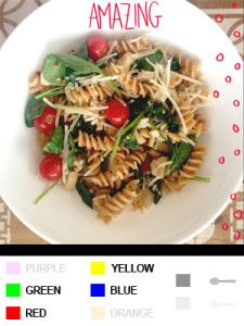 21 Day Fix Recipes, Meal Plans, and ALL THE DETAILS!!!  Chicken Pasta Bowl