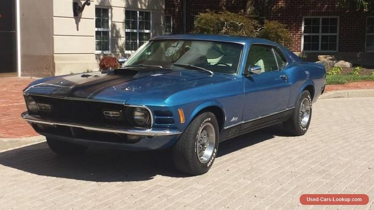 1970 Ford Mustang Mach I Fastback 2-Door #ford #mustang #forsale #unitedstates