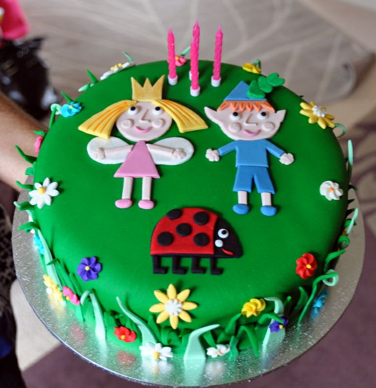 Ben and Holly cake - had fun creating this little masterpiece