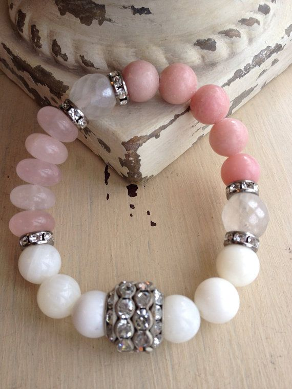Summertime Glam Beachy Bohemian Pink White by MarleeLovesRoxy