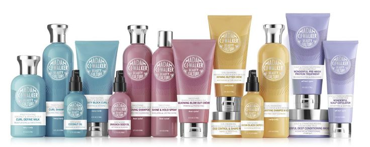 Sephora is exclusively releasing the Madam CJ Walker Hair Care line just in time for Women's History Month. Her family is part of the amazing launch. #beauty #haircare