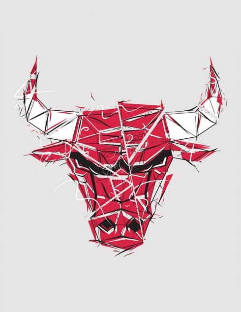RareInk - NBA logos by Mike Harrison