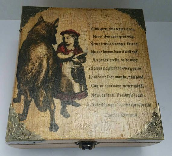 Hey, I found this really awesome Etsy listing at https://www.etsy.com/listing/522920043/vintage-inspired-little-red-riding-hood