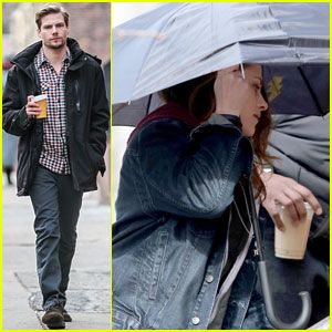 Kristen Stewart Films 'Still Alice' Scenes with Hunter Parrish!