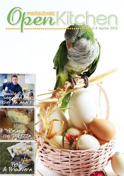 copertina del numero di Open Kitchen Magazine di aprile (all'interno tutta l'intervista a Simone Rugiati)  www.openkitchenmagazine.com
