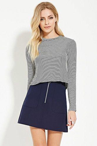 Contemporary Mini Skirt