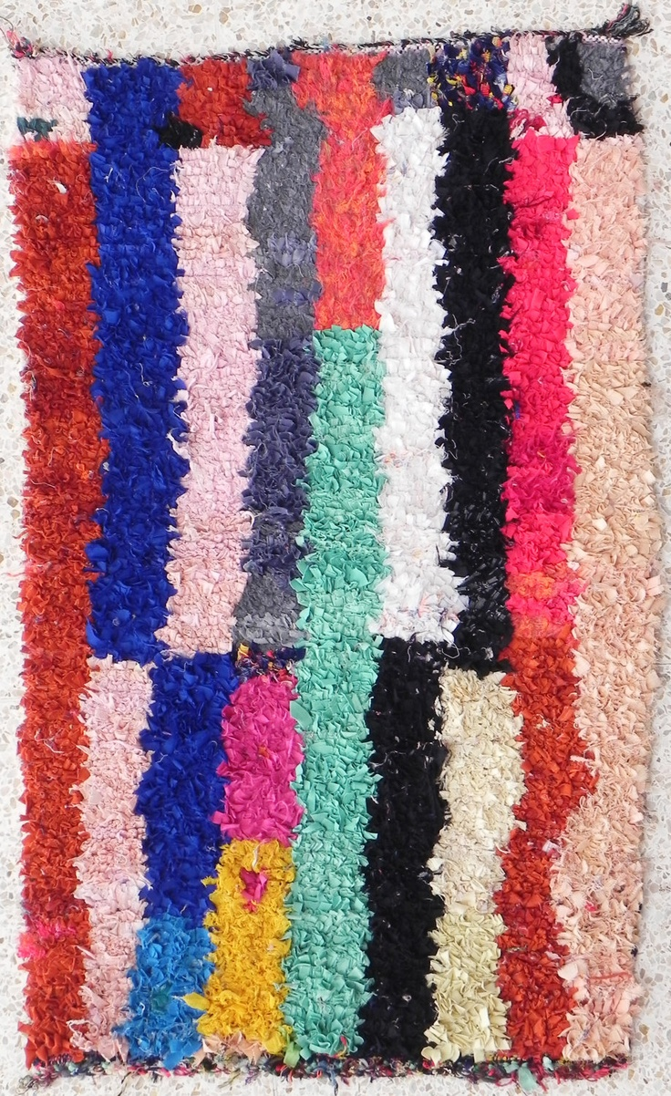 10 best boucherouite berber rag rugs images on pinterest rag rugs morocco and moroccan rugs. Black Bedroom Furniture Sets. Home Design Ideas