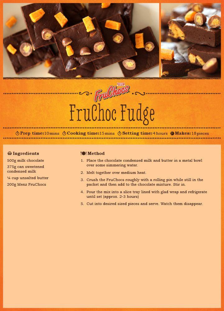 FruChoc Fudge