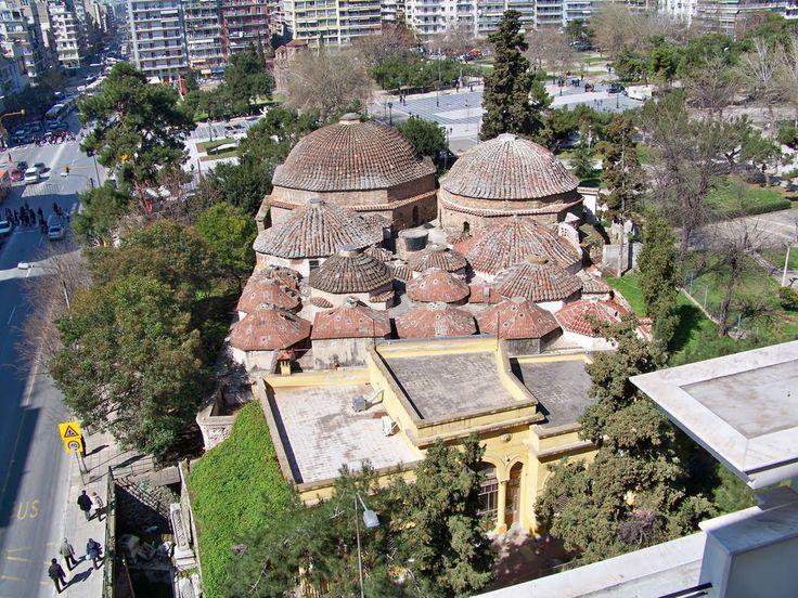 Thessaloniki-Ottomaanse Bey Hamam uit 1500